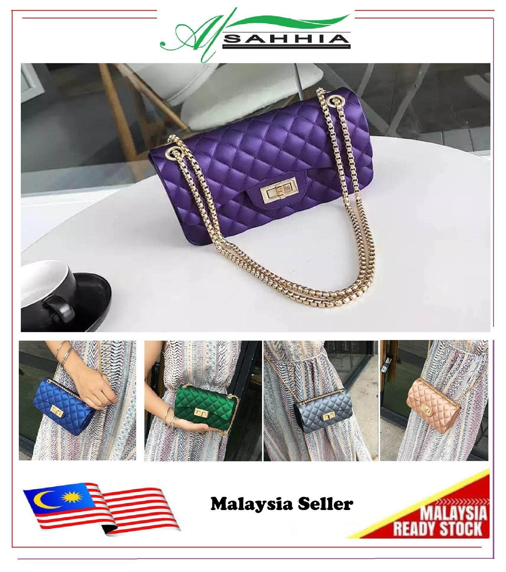 d9c38a4b48 Al Sahhia Ready Stock Jelly Bag Glory Bags Sling Bag Shoulder Bag Beg  Fashion Bags