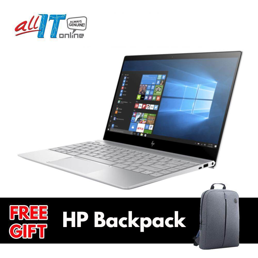 (Use Code ALLIT50HP) HP ENVY 13-ad173TU [i5-8250U,4GB, 256GB SSD, W10] **FREE HP Backpack** [FS0A] Malaysia