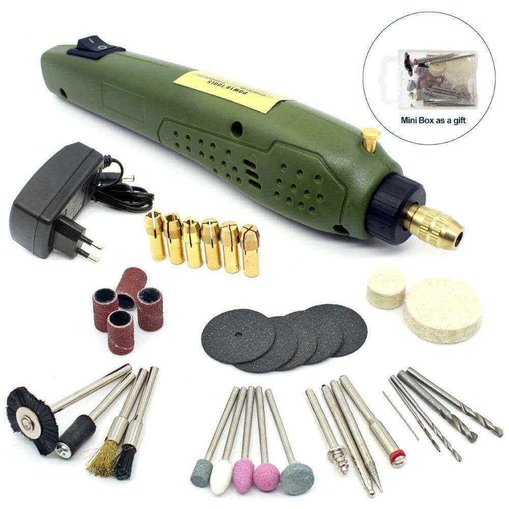 Tools Drill Bits Small Drill Set 0.5 1 2.0mm Straight Handle Twist Drill High Speed Steel Drill Toy Model Opening Drill
