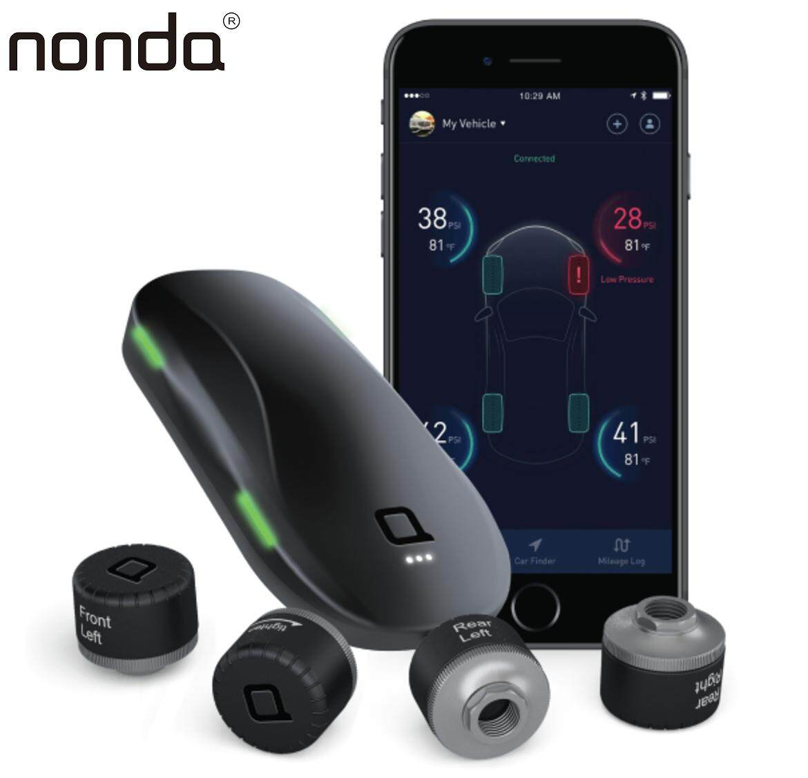 Nonda Zus Smart Tire Safety Monitor By Axtro.