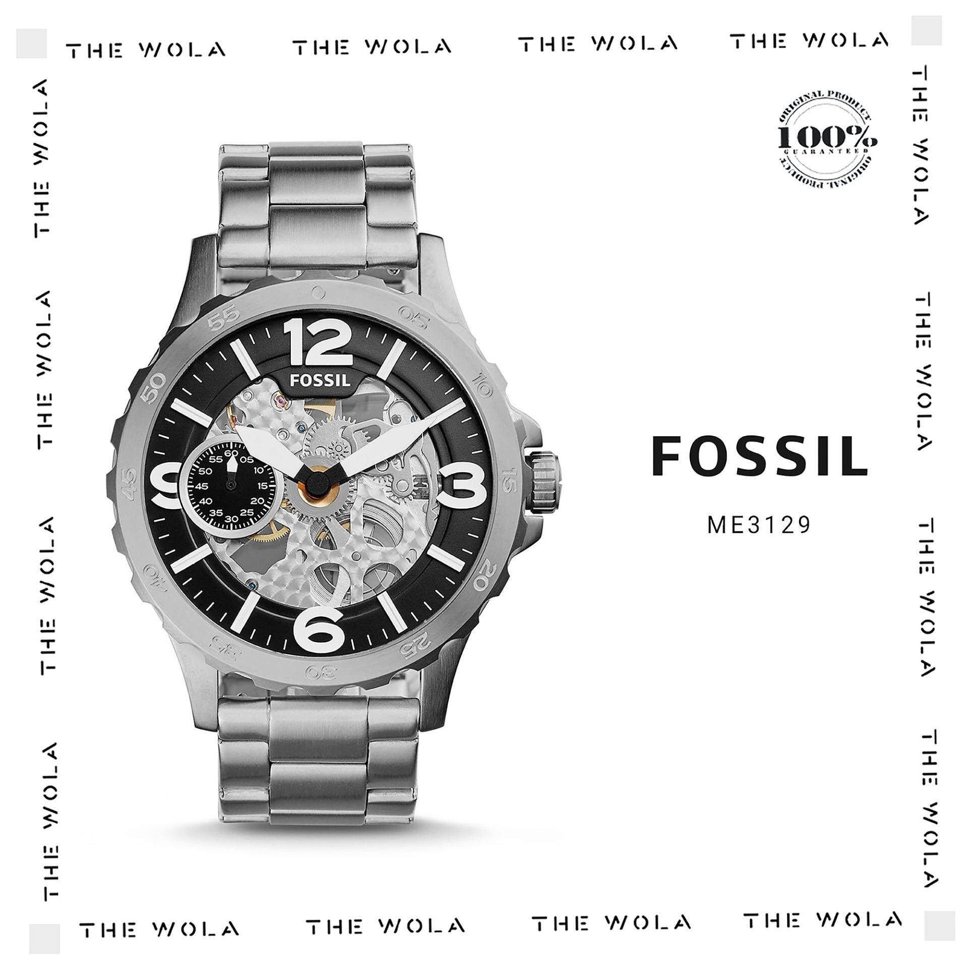 Fossil Watches Price In Malaysia Best Lazada Es3815 Jam Tangan Wanita Original Automatic Men Watch Me3129 Genuine 2 Years Warranty