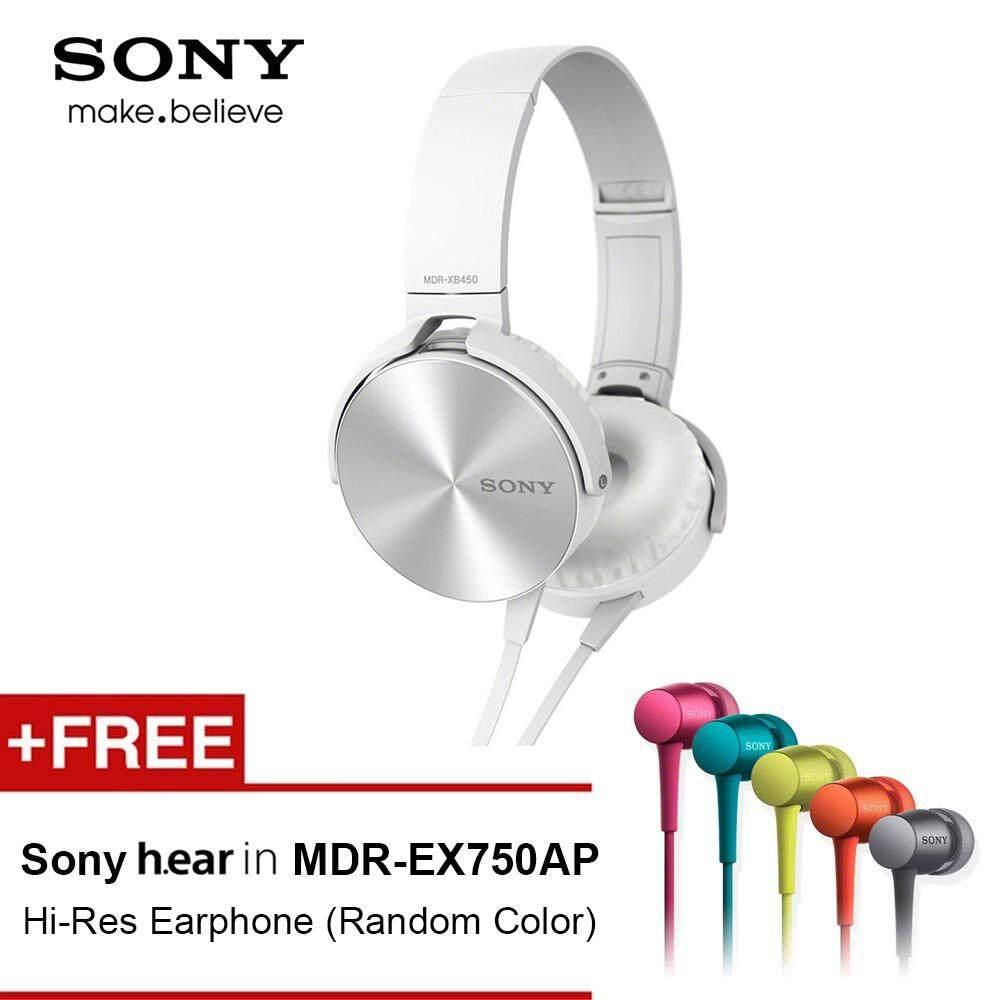 On Ear Headphones Buy At Best Price In Malaysia Headphone Sony Extra Bass Mdr Xb450ap Ex750ap Earphone Random