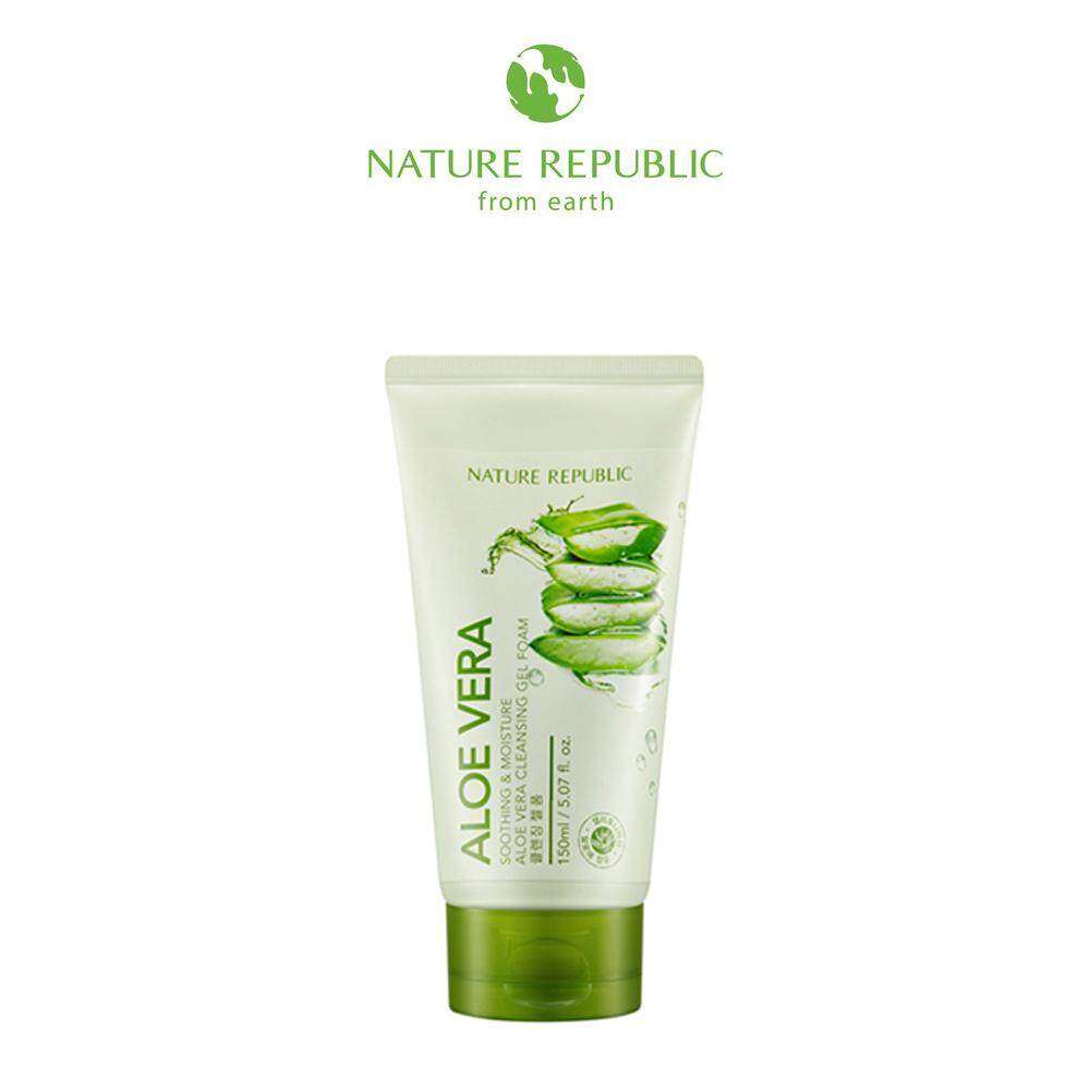 Nature Republic Soothing & Moisture Aloe Vera Cleansing Gel Foam (150ml)
