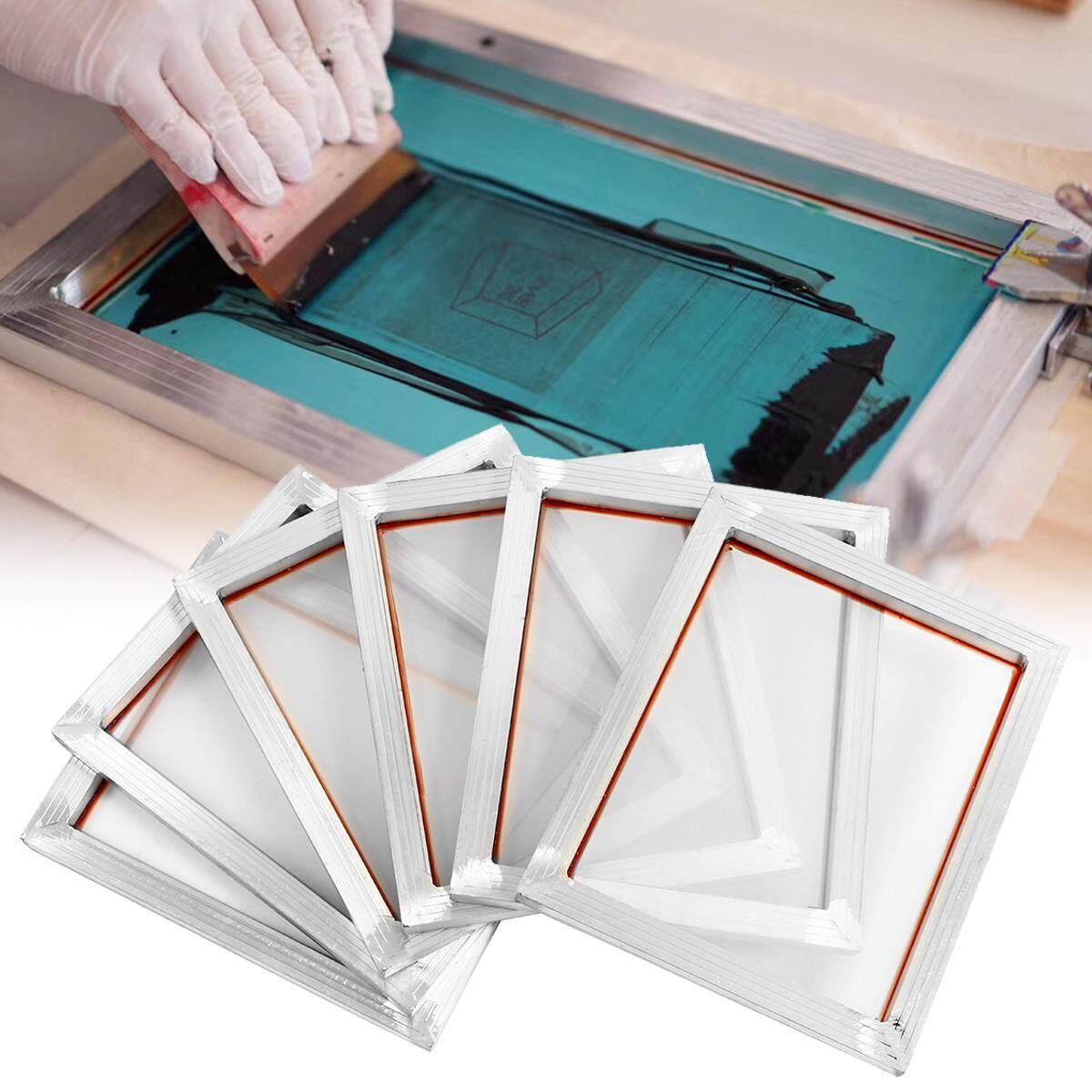2d2bb933d3e4 6Pcs 14  x10   Aluminium Alloy Silk Screen Printing Frame w 110 White
