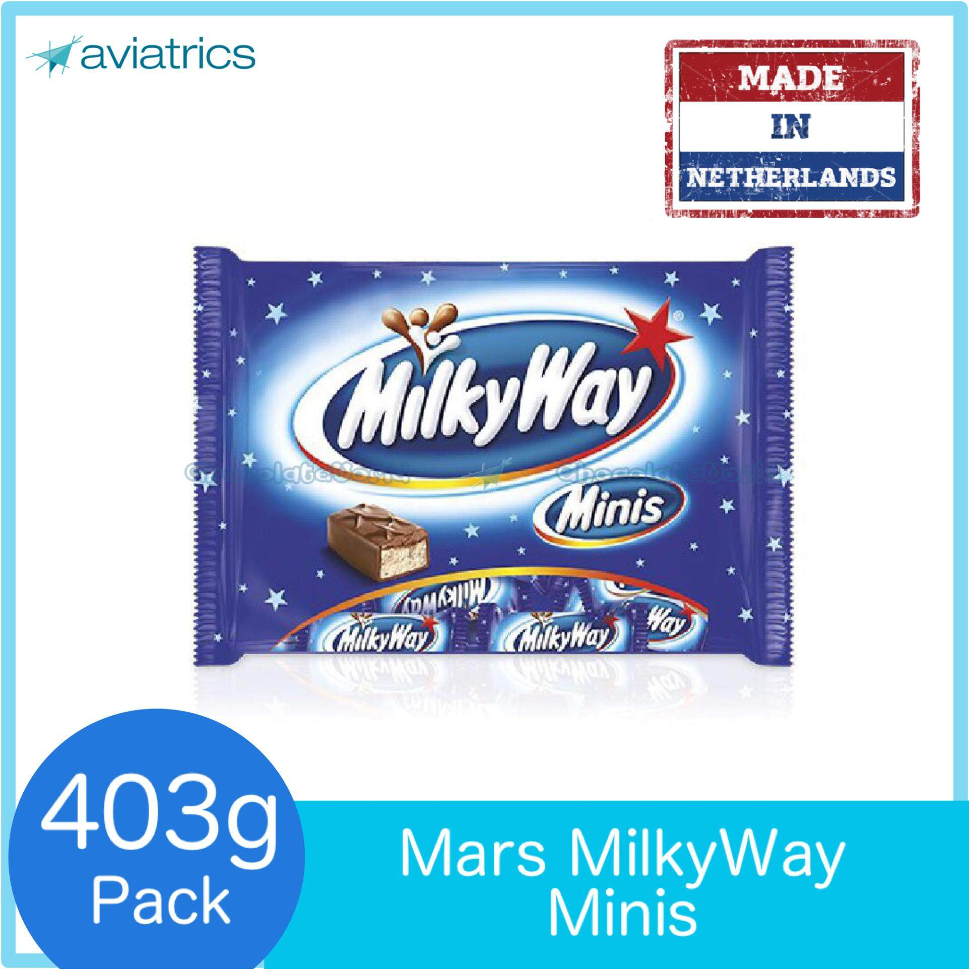 Candy Chocolate Buy At Best Price In Malaysia Nestea Thai Milk Tea Isi 13 Pcs Mars Milkyway Minis 14pcs Funpack 403g Milky Way Made Netherlands