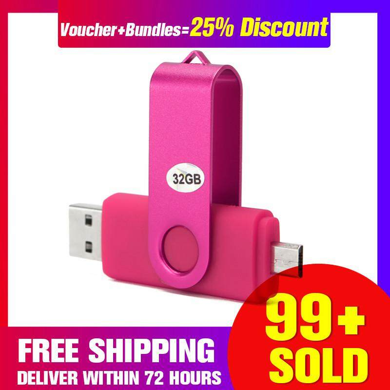【Free Shipping + Super Deal + Limited Offer】32GB USB 2.0 Swivel Flash Memory