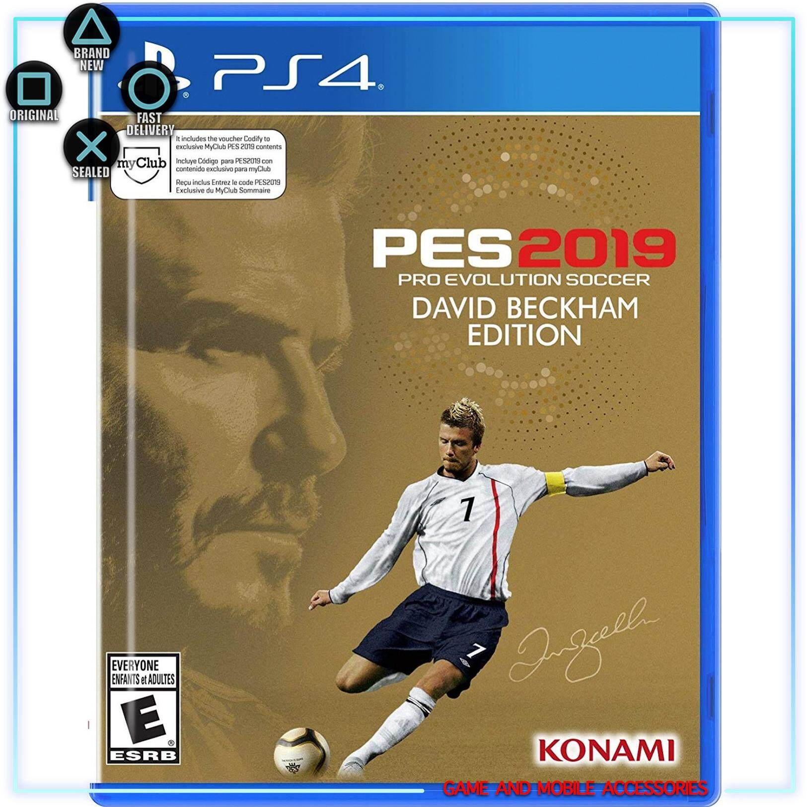 Konami Gaming Price In Malaysia Best Lazada Kaset Xbox 360 Fifa 2018 Ps4 Pes Pro Evolution Soccer 2019 David Beckham Steelcase Edition R2 Eng