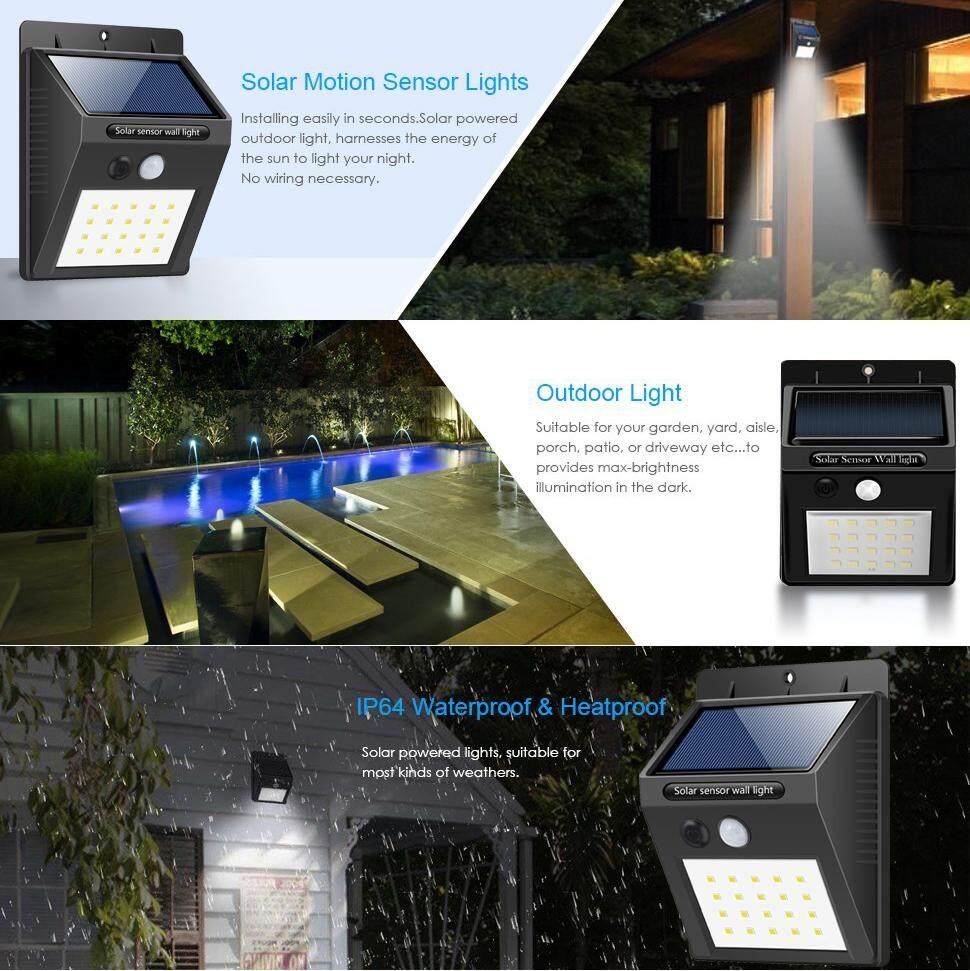 Led Outdoor Garden Light Motion Sensor