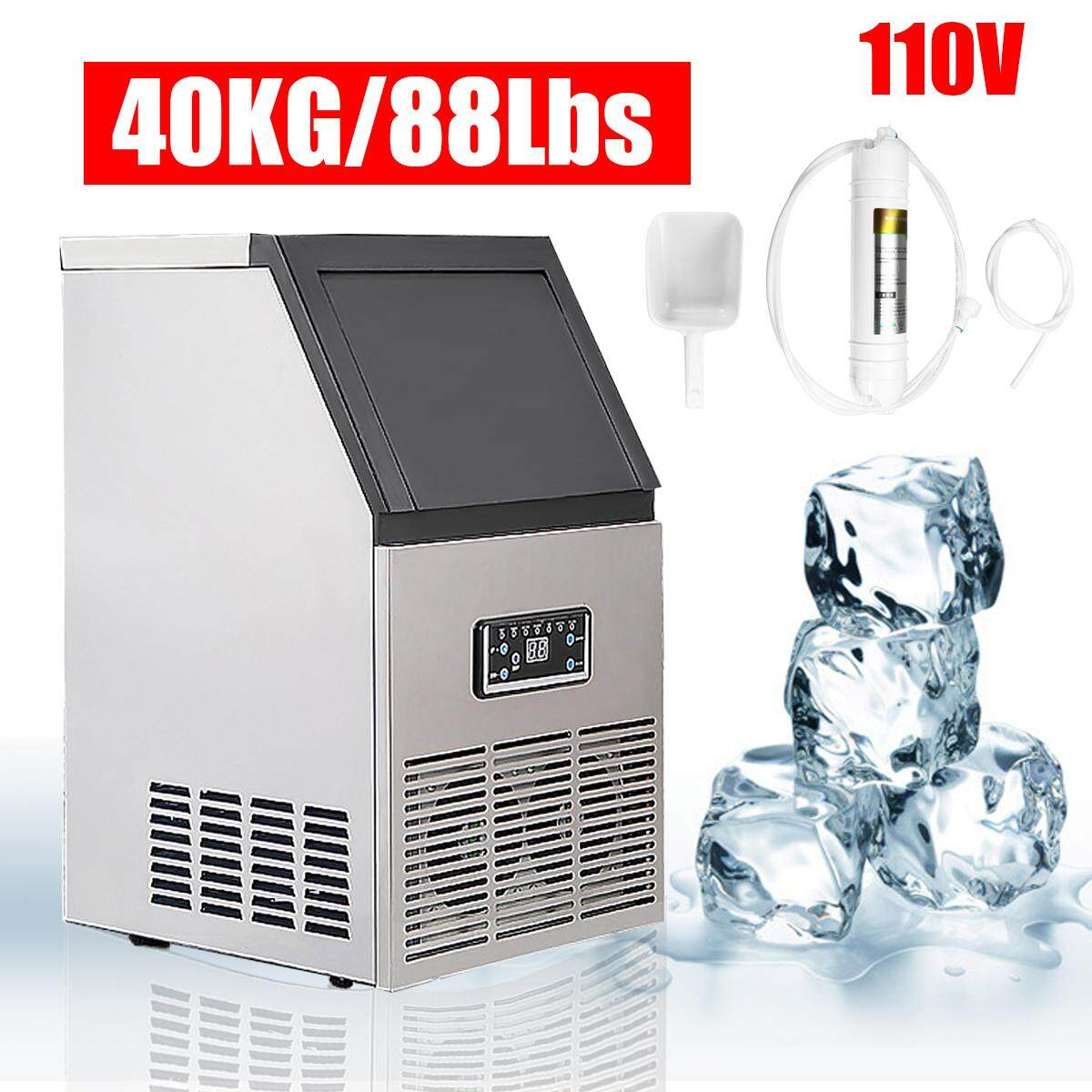 110V commercial ice maker machine 40kg