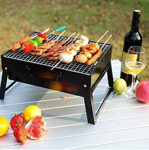 E Sonic Portable Bbq Grill Charcoal Barbecue Cookware
