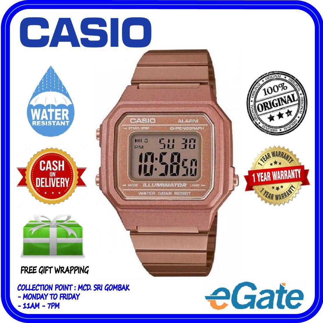 Casio Watches With Best Price At Lazada Malaysia G Shock Series Ga 100 Jam Tangan Pria Strap Resin B650wc 5a Unisex Rose Gold Digital Watch Classic Square Design Original
