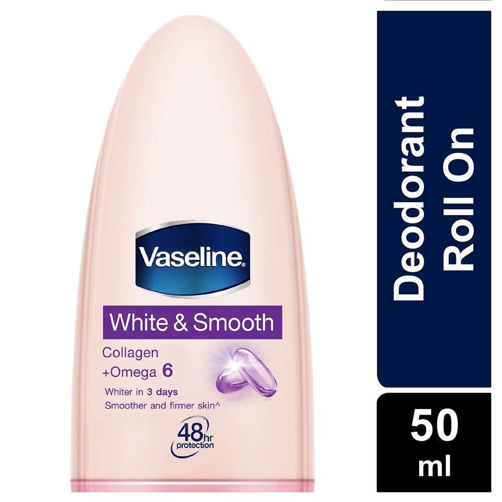 Vaseline Deodorant Roll On White & Smooth 50 ml