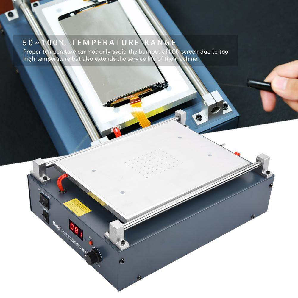 【Time-limited Promotions】12in Vacuum Air Pump LCD Screen Separator Screen Repair for Mobile Phone Tablet EU Plug 220V