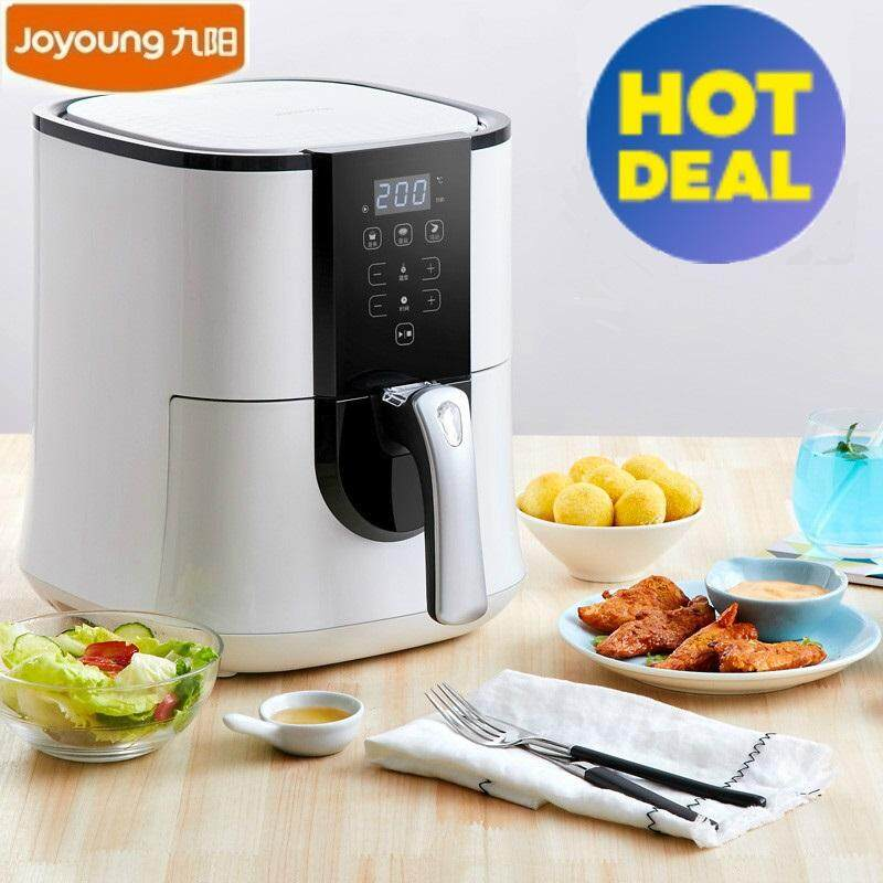 Ttlife High Quality Joyoung Kl-32i92 Air Fryer Household Intelligent No Fumes Non-Fried 3.2l High Capacity Electric Fryer (white) By Ttlife Fashion Zone.