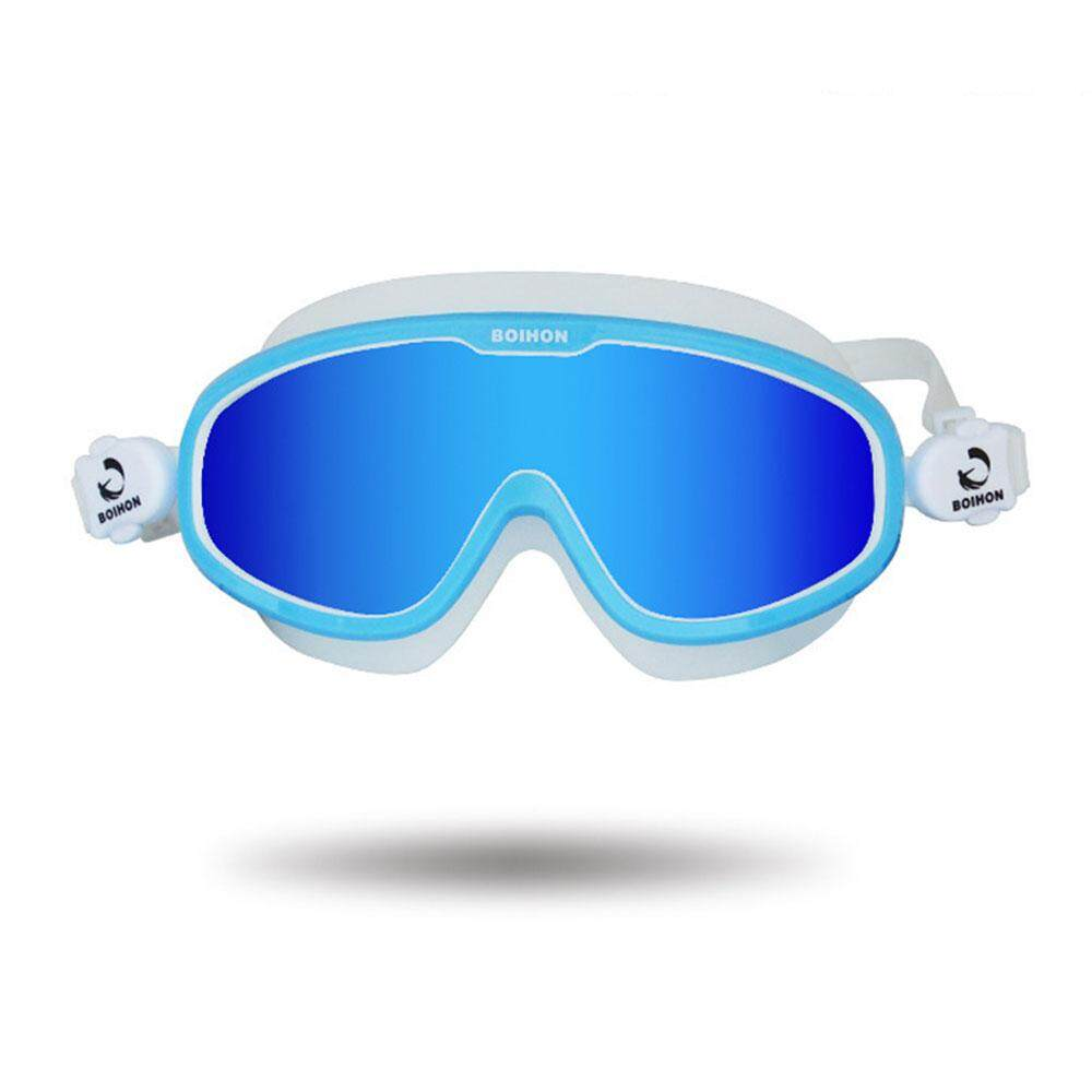8c798f5c7e9 Womdee Adult Swim Goggle Large Frame Adjustable Swimming Goggles With UV  Protection Leak-proof And