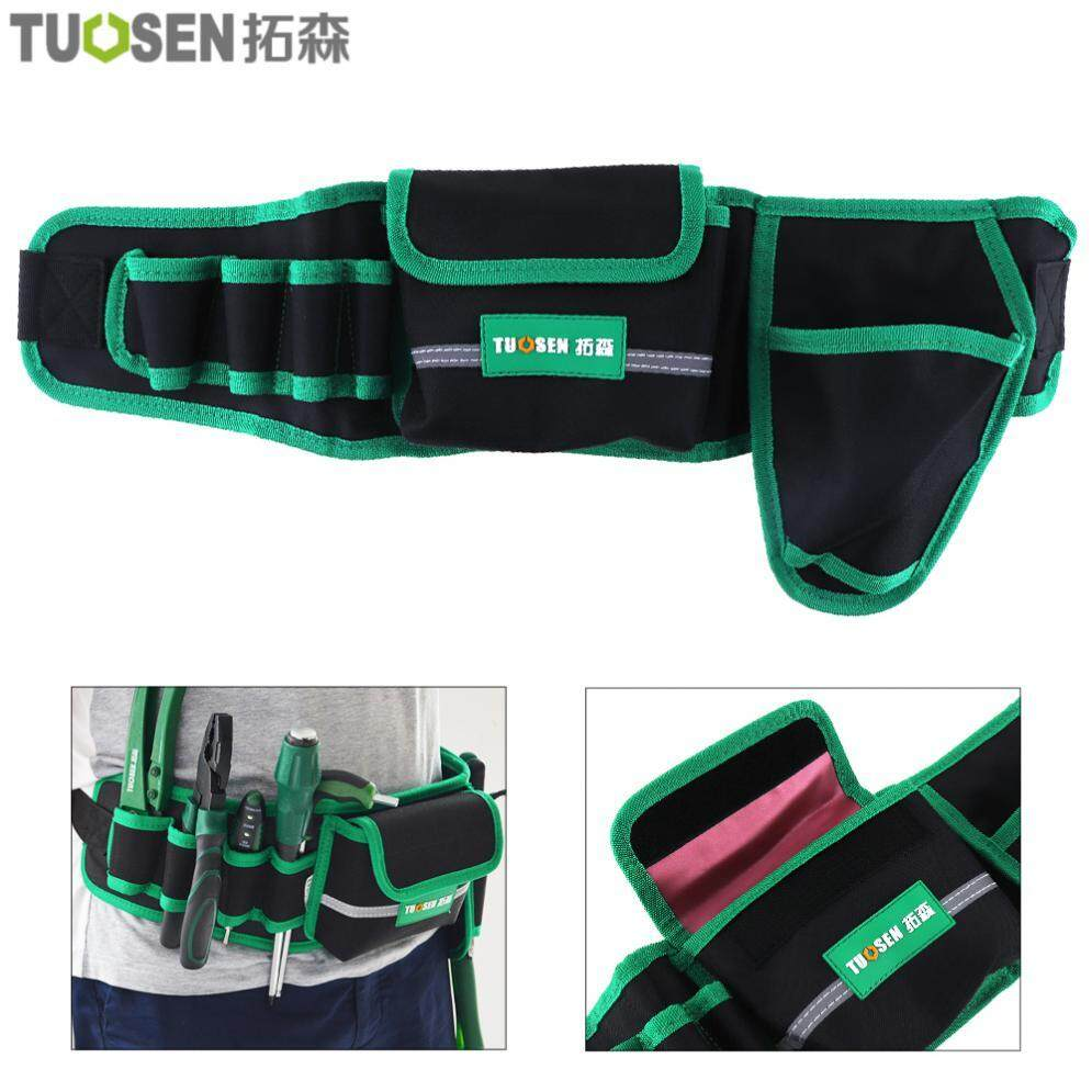 Multifunction Durable Waterproof Waist Tool Bag Electric Drill Pocket for Home / Industrial Maintenance