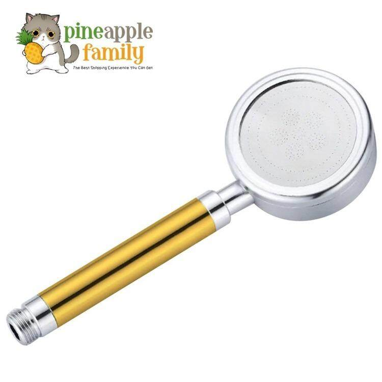 Space Aluminium Pressurized Water-Saving Shower Head Handheld Shower Shower By Pineapple Family.