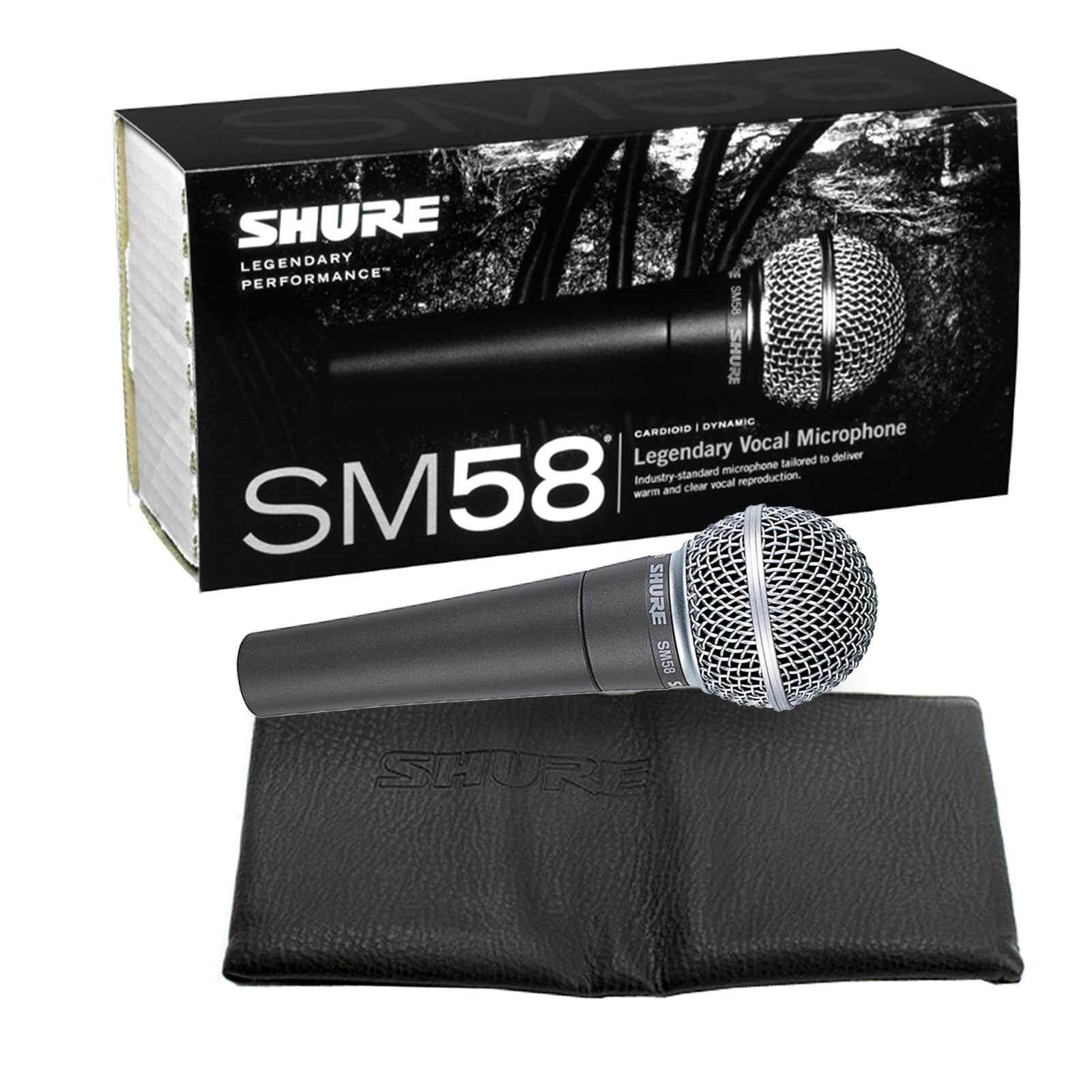 SHURE (SM58) Handheld Dynamic Microphone (Original)