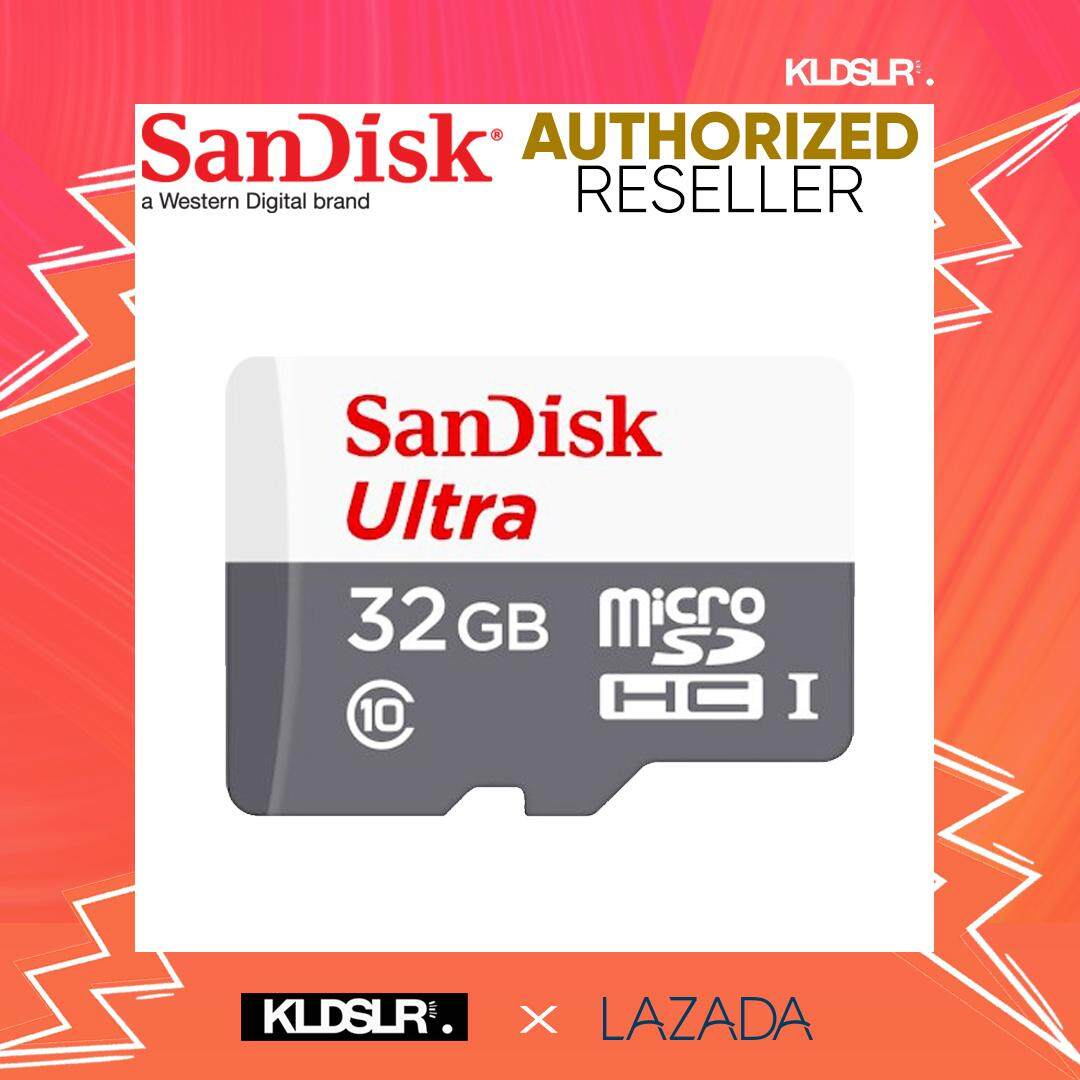 Memory Micro Sd Card With Best Price At Lazada Malaysia Sandisk 32gb Ultra 80mb S 533x C10 Microsdhc Uhs I Sdsquns
