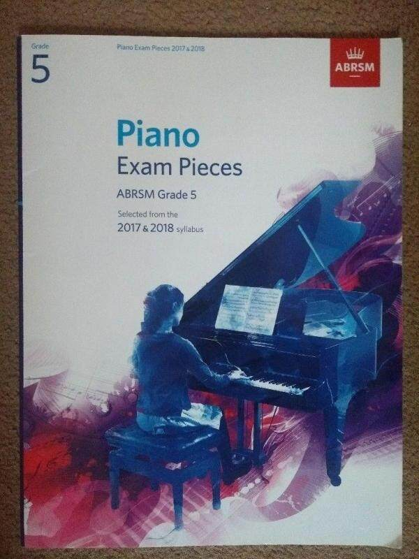 Piano Exam Pieces ABRSM Grade 5 (selected from the 2017-2018 syllabus) Malaysia