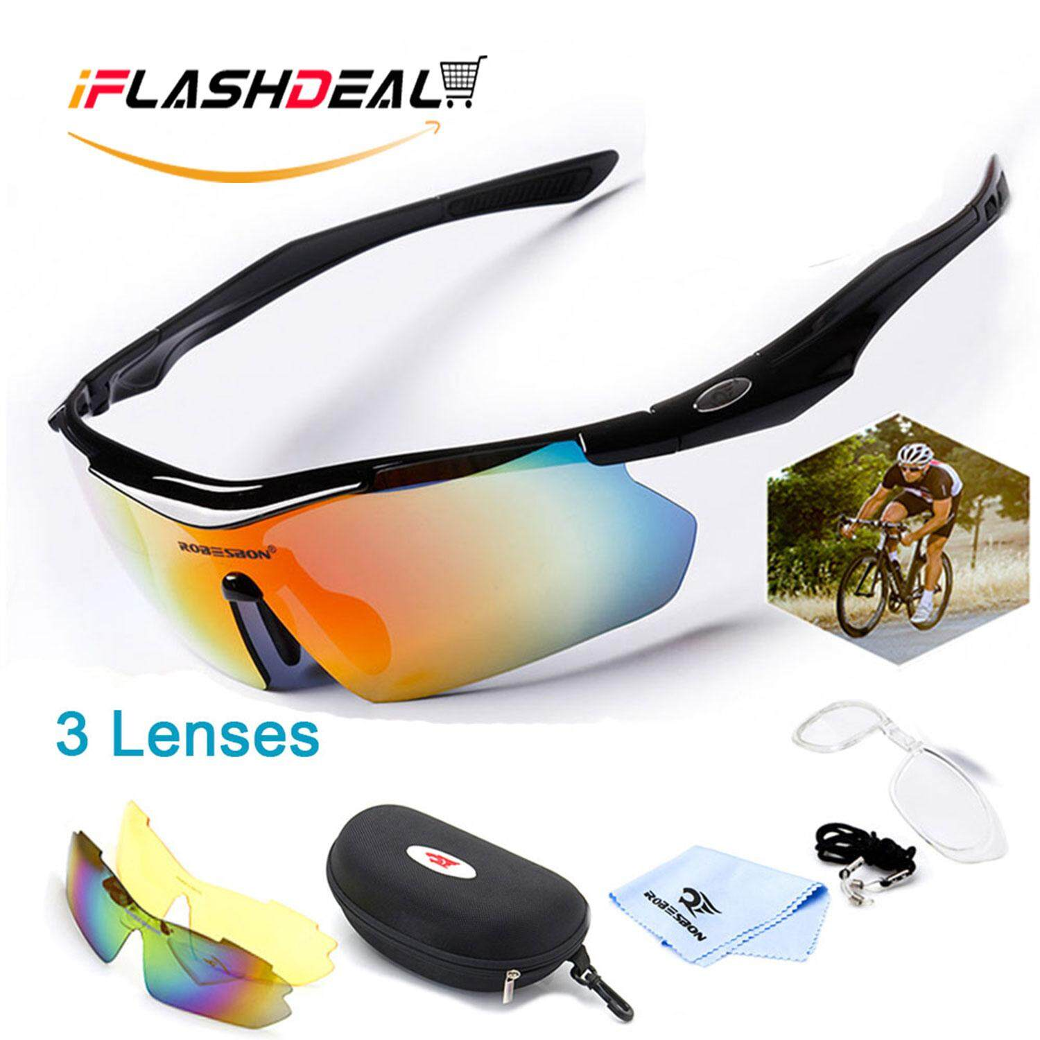 731aab02dc iFlashDeal Global Express Delivery within 72 days Men Sports Sunglasses  Polarized Outdoor Sport Driving