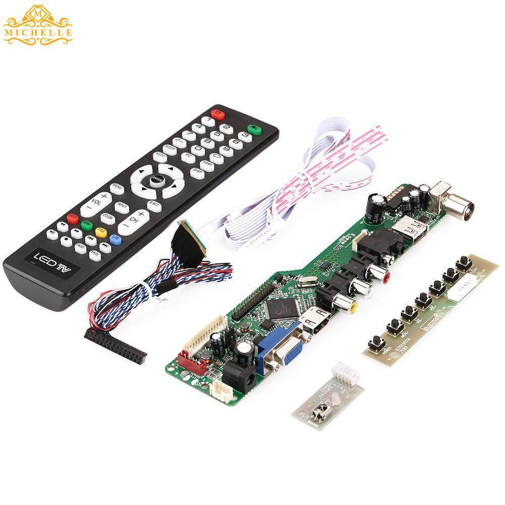 Lcd Controller Board Tv Hdmi Vga Av Usb Audio Support 1920x1080 Screen By Michelle Trading.