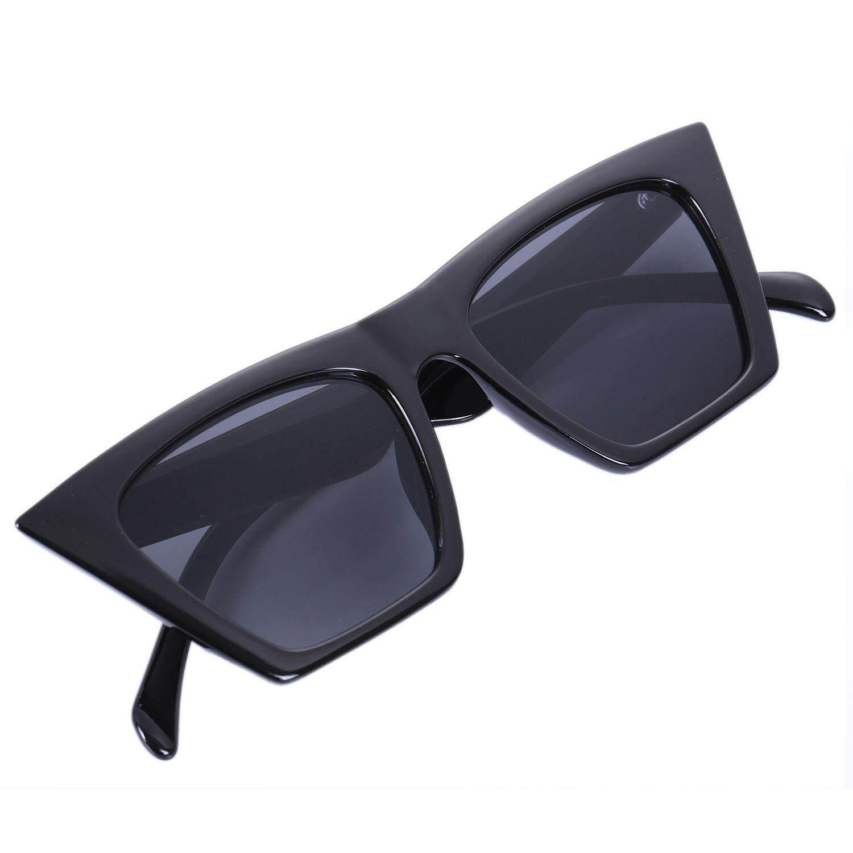 bd89469312a2 Fashion Cat Eye Sunglasses Women Men Luxury Sun Glasses Gradient Shades  Eyeglasses S17047 Black