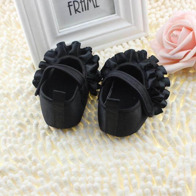 Radocie Baby Toddler Girls Soft Sole Anti-Slip Shoes Bk/11cm By Radocie.