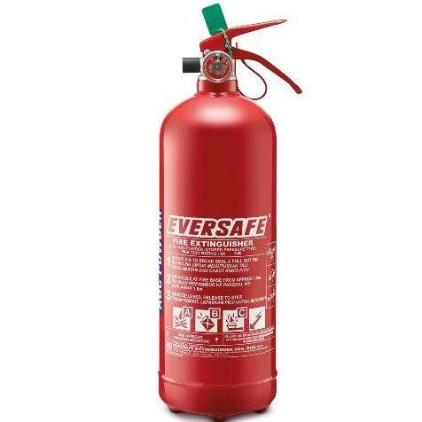 Eversafe 2kg Abc Powder Fire Extinguisher By Ues.