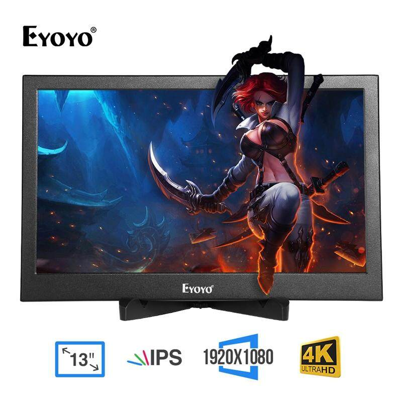 Eyoyo 13.3 Inch Portable Gaming Monitor IPS Dual HDMI Display Raspberry Pi Screen 1920x1080 Resolution Malaysia