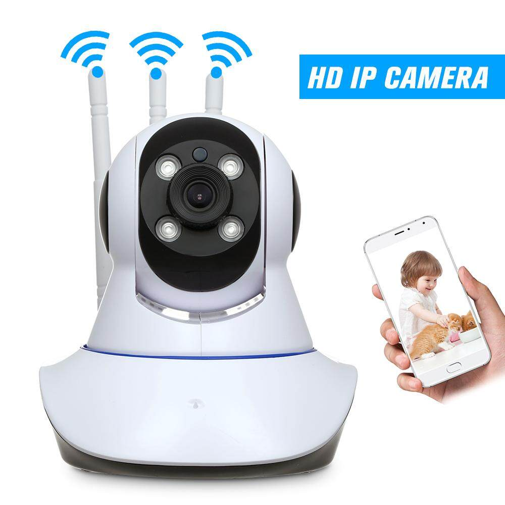 Hd 720p 1.0 Megapixels Ip Cloud Camera 4pcs Array Ir Lamps Cctv Surveillance Security Network Ptz Camera Support Cloud Storage P2p For Android/ios App Ir-Cut Filter Infrared Night View Motion Detection,baby/store/office/pet/elder Monitoring By Outdoorfree.