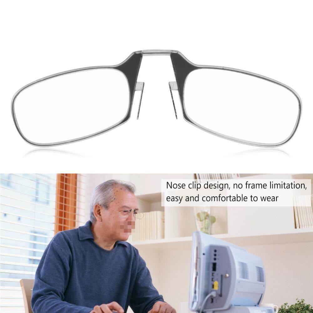 0a1e120011 Unisex Ultra Thin Light 1.0-3.0 Big Nose Clip Reading Presbyopic Glasses  Mini Size 1.0