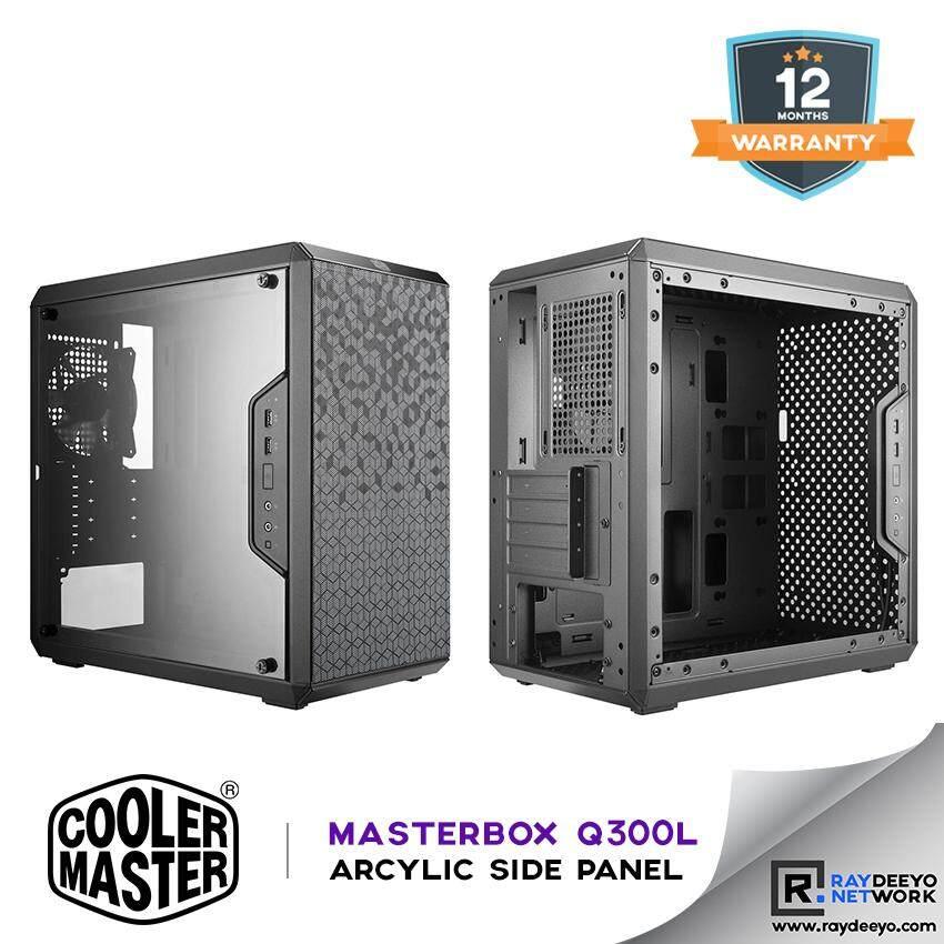 Cooler Master MasterBox Q300L Chassis [Matx, Mini-ITX] Malaysia