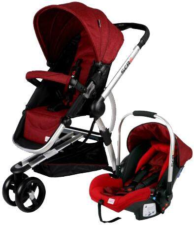 Sweet Cherry Travelling Set Scr6 (stroller With Baby Carrier) By Pbo Oline Shop.