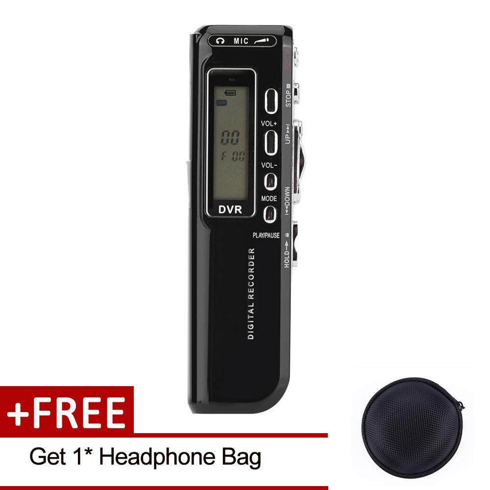 【Buy 1 Get 1 Free Gift】SK-010 Voice Sound Recorder USB Rechargeable  Dictaphone LCD Recorder MP3 Player Multi-language 8GB Memory Digital Voice