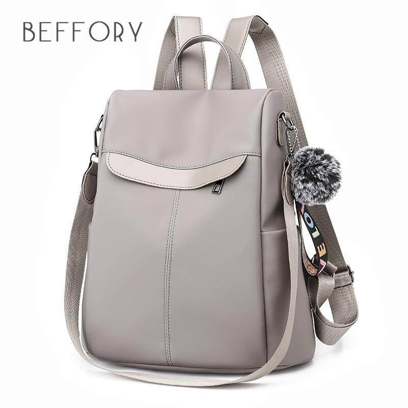 cbf77e5a01 BEFFORY Women s Backpack Fashion Anti-theft Korean Backpack Shoulder Bag