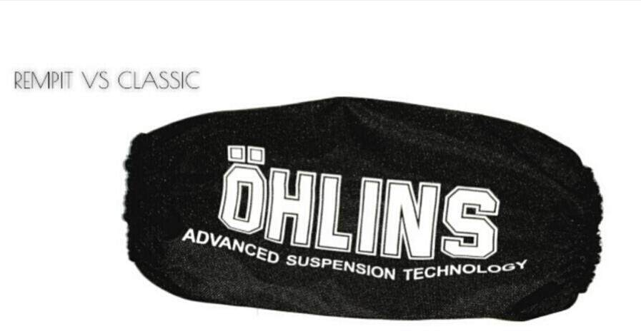 ABSORBER COVER OHLINS ( LC135 / Y125Z / Y15ZR ) Malaysia