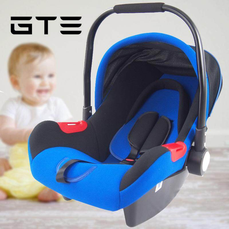 GTE Baby Safety Carriage Child Car Safety Seat Baby Safety Cradle Chair Baby Car Seat Baby Car 0-12 Months - Fulfilled By SHOP