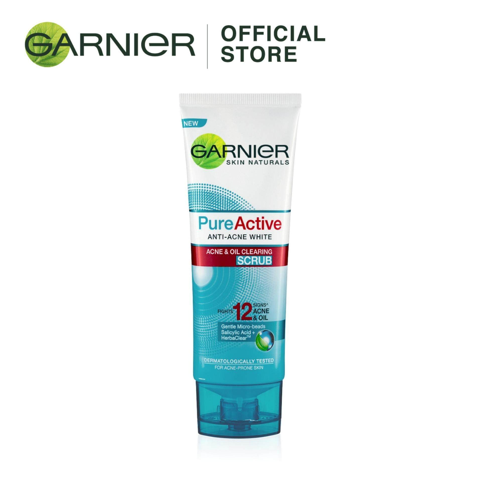Garnier Pure Active Anti-Acne White Scrub 100ml