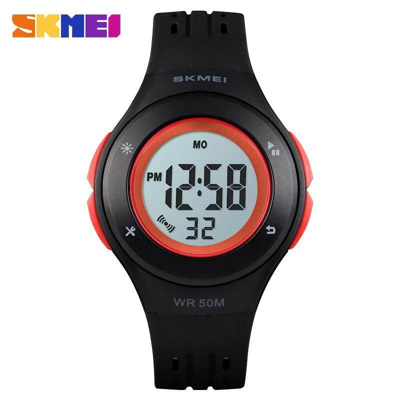 SKMEI Kids Watches LED Sport Style Childrens Digital Electronic Watch Boy Girl Fashion Children Cartoon 50M Waterproof Wristwatches 1455 Malaysia