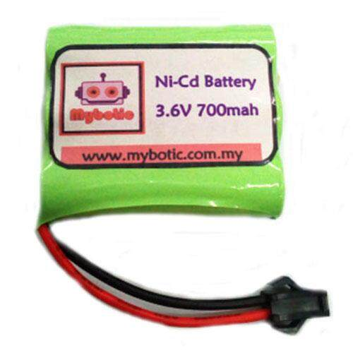 Ni-Cd Battery 3.6v 700mah By Mybotic.