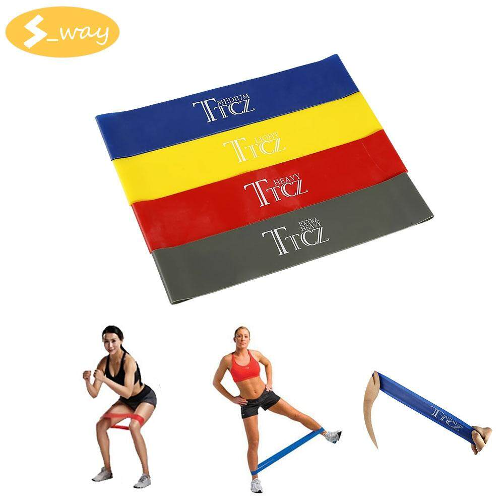 Fitness Exercise Band With Best Online Price In Malaysia Body Gym Ankle Strap Resistance Bands Sway Loop Yoga Stylish Workout Training Soft
