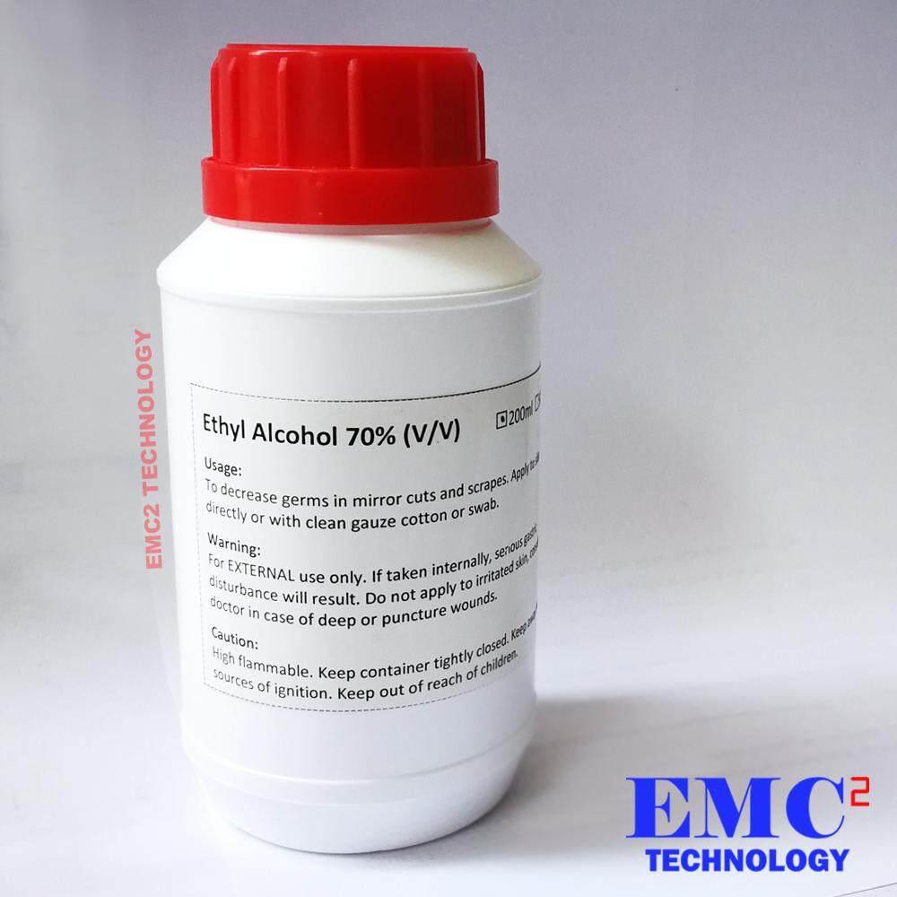 Ethyl Alcohol (Ethanol) 70% 200ml