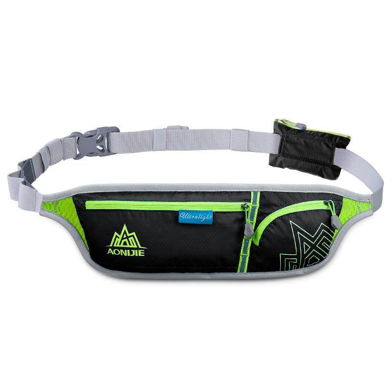 Aonijie Unisex Waterproof Reflective Sports Bag Outdoor Running Waist Pack Running Belt Bag For Cellphone Screen Less 6 Inch Black By The North Star.