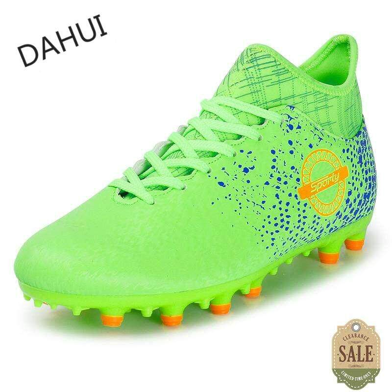 cheap for discount ca128 cd764 Soccer Boots Shoes Sports Man Indoor Football shoes (Green)