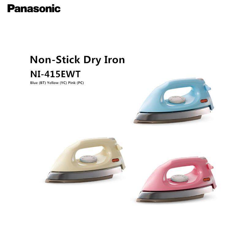 Panasonic Iron Ni-415ewt (1000w) 1.6 Kg Non Stick Coated Dry Iron (random Color) By Sweet House.