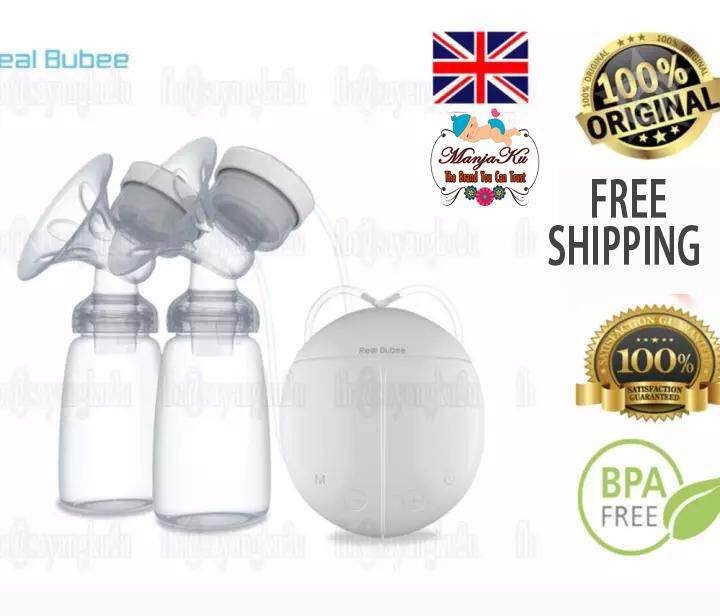 [ready Stock] 100% Original Real Bubee Electric Automatic Dual Breast Pump Manjaku By Manjaku.