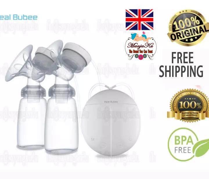 [ready Stock] 100% Original Real Bubee Electric Automatic Dual Breast Pump Manjaku By Manjaku.