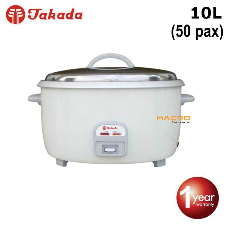 Takada Cfxb-100l Commercial Rice Cooker 10l (for 50 Person) By Buylah My.
