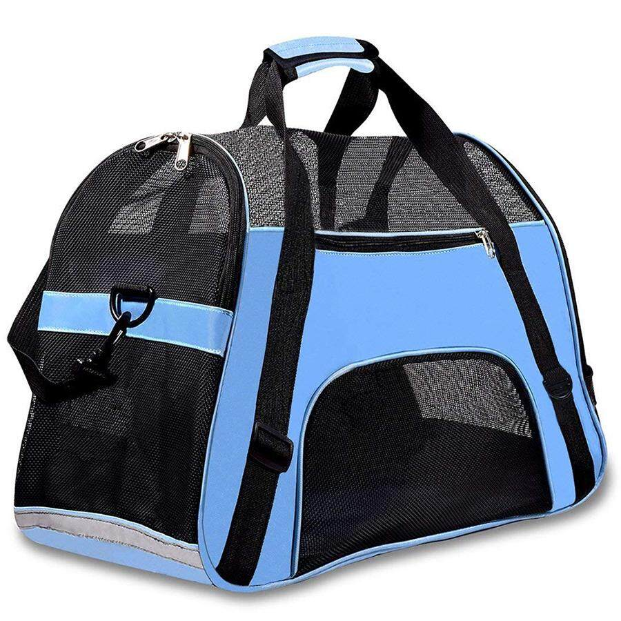 ca4c24bac4cb Airline Approved Pet Carrier Under Seat Soft Sided for Dogs Cats Small  Puppies Airline Travel Handbag Shoulder Bag,Portable Pet Carrier Airline ...